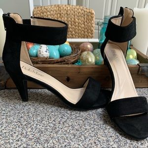 Bella Marie Black Heels